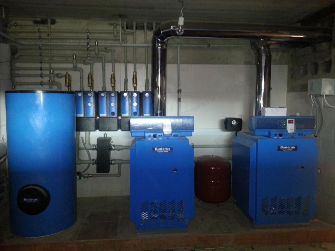 монтаж водоснабжения инорс 590 м2