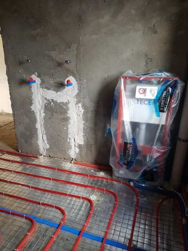 монтаж инсталяции миловка - 2
