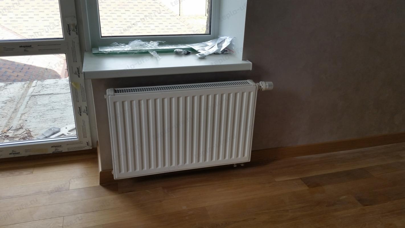 монтаж радиатора отопления2 инорс 590 м2