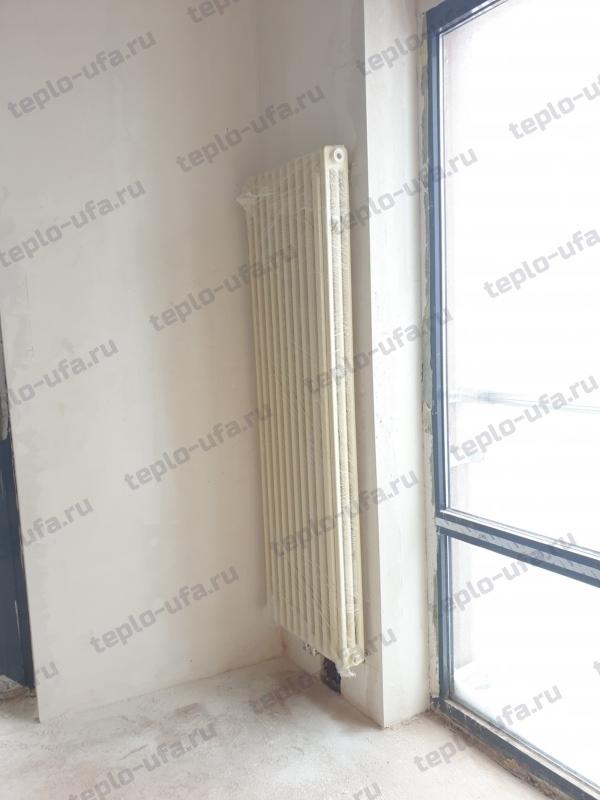 монтаж радиатора отопления жк грин парк - 2
