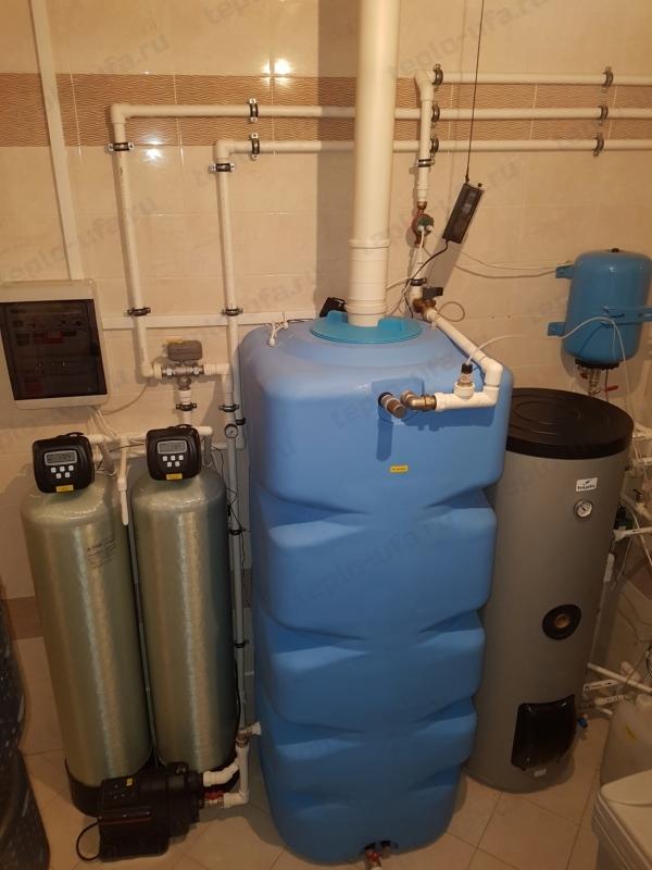 монтаж водоочистки инорс 370 м2 - 2