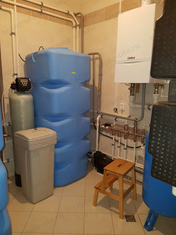 монтаж водоочистки инорс 370 м2 - 3