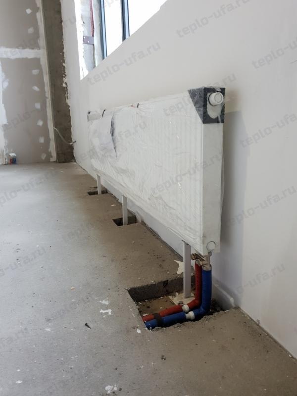 монтаж радиатора отопления зубово фитнесс - 2