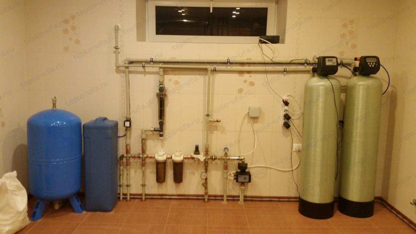 монтаж водоочистки инорс 590 м2