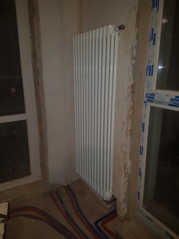 монтаж радиатора отопления сосны 75 м2 - 2